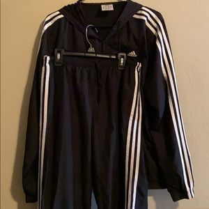 Adidas Jacket/Pants outfit